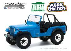 Mork & Mindy Kov. Model 1/18 1972 Jeep CJ-5