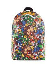 Nintendo Batoh Super Mario Characters AOP