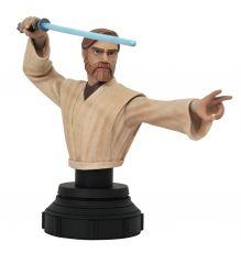 Star Wars The Clone Wars Bysta 1/7 Obi-Wan Kenobi 15 cm