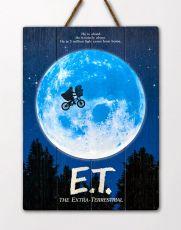 E.T. the Extra-Terrestrial WoodArts 3D Wooden Nástěnná Art The Extra-Terrestrial  30 x 40 cm