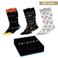 Friends Ponožky 3-Pack Symbols 40-46