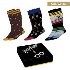 Harry Potter Ponožky 3-Pack Crests 40-46