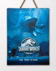 Jurassic World WoodArts 3D Wooden Nástěnná Art Mossasaurus 30 x 40 cm