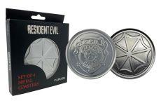 Resident Evil Podtácky 4-Pack Police & Logo