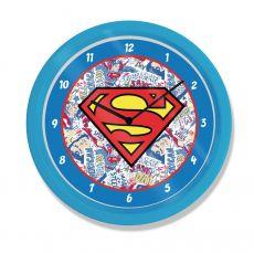 Superman Nástěnná Hodiny Logo