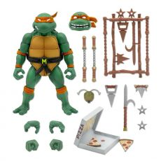 Teenage Mutant Ninja Turtles Ultimates Akční Figure Michaelangelo 18 cm