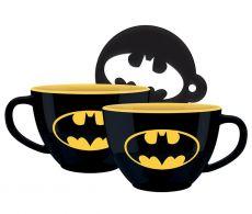 Batman Cappuccino Hrnek Bat-Signal