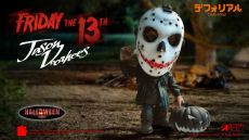 Friday the 13th Defo-Real Series Soft vinylová Figure Jason Voorhees Halloween Verze 15 cm