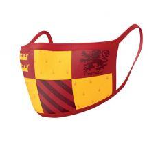 Harry Potter Face Masks 2-Pack Nebelvír