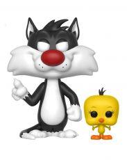 Looney Tunes POP! Television vinylová Figure Sylvester & Tweety 9 cm