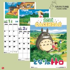 My Neighbor Totoro Kalendář 2021 Anglická Verze