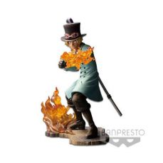 One Piece Stampede Posing Series PVC Soška Sabo 15 cm