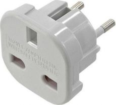 Power Plug Adapter UK -> EU