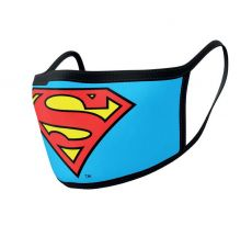 Superman Face Masks 2-Pack Logo