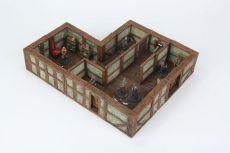 WarLock Tiles: Town & Village II - Full Height Plaster Walls Expansion
