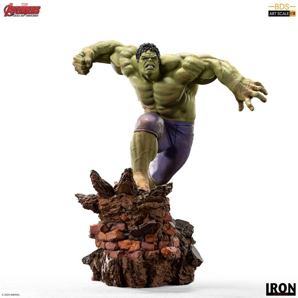 Avengers Age of Ultron BDS Art Scale Soška 1/10 Hulk 26 cm Iron Studios