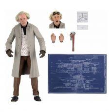 Back to the Future Akční Figure Ultimate Doc Brown 18 cm