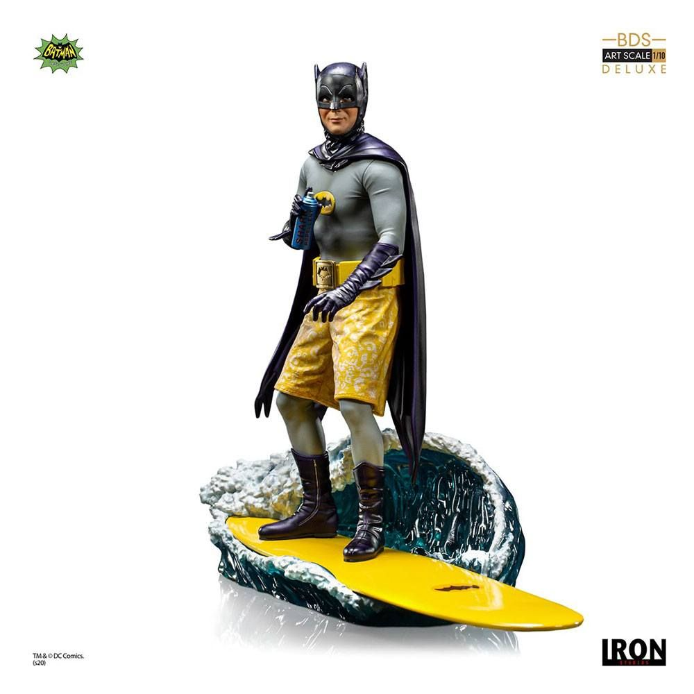 Batman 1966 Deluxe BDS Art Scale Soška 1/10 Batman 21 cm Iron Studios