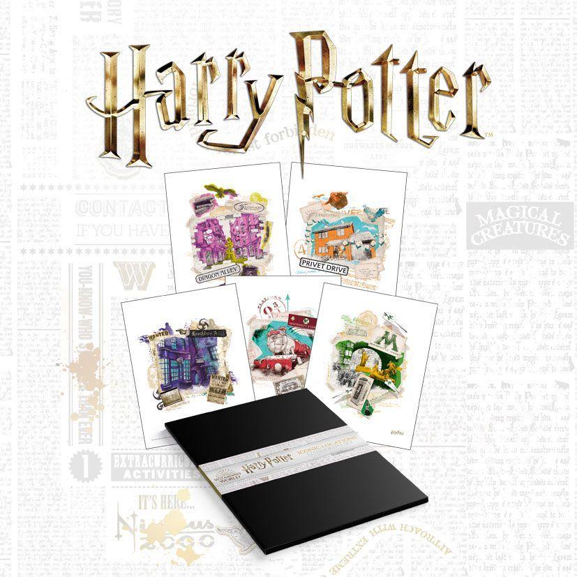 Harry Potter Lithograph 10-Set 36 x 28 cm FaNaTtik