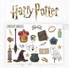 Harry Potter Nástěnná Nálepka Set Characters