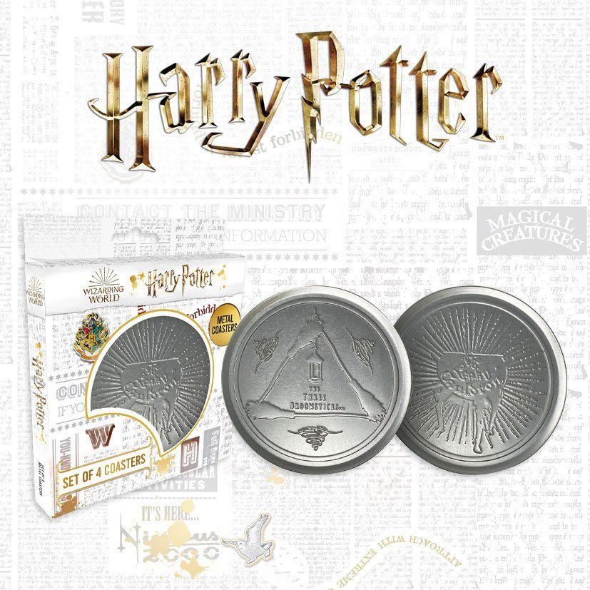 Harry Potter Podtácky 4-Pack Leaky Cauldron FaNaTtik