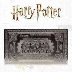 Harry Potter Replika Bradavice Train Ticket Limited Edition (silver plated)