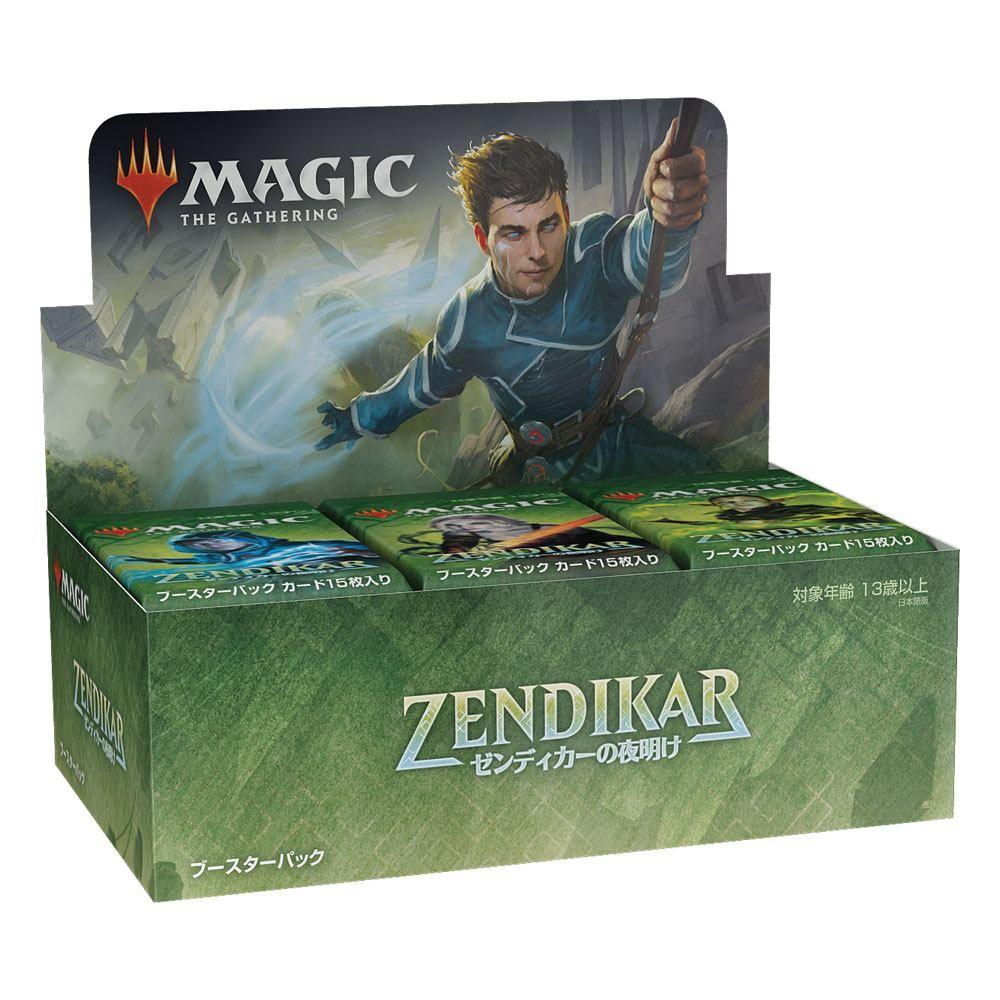 Magic the Gathering Zendikar Rising Draft Booster Display (36) japanese Wizards of the Coast