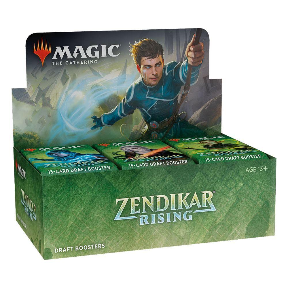 Magic the Gathering Zendikar Rising Draft Booster Display (36) Anglická Wizards of the Coast