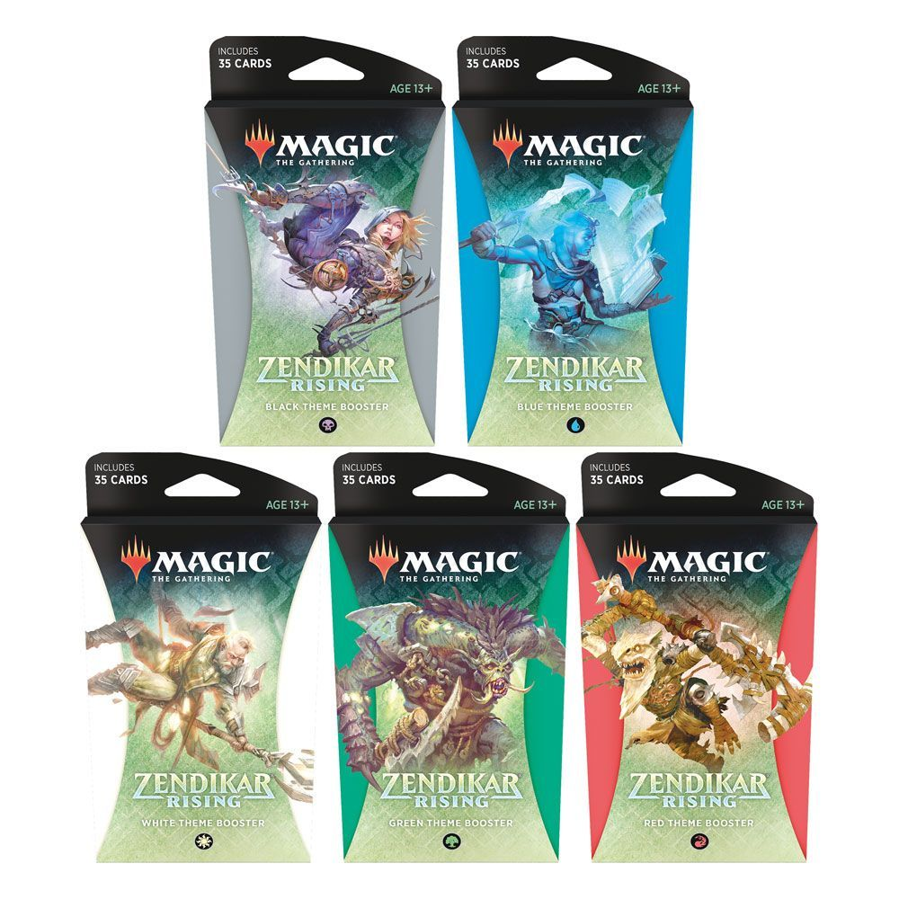 Magic the Gathering Zendikar Rising Theme Booster Display (12) Anglická Wizards of the Coast