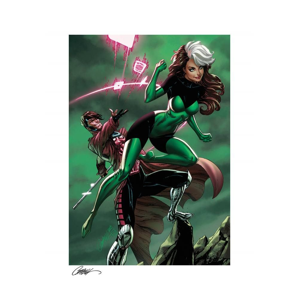 Marvel Art Print Uncanny X-Men: Rogue & Gambit 46 x 61 cm - unframed Sideshow Collectibles