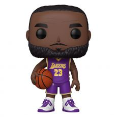 NBA Super Sized POP! vinylová Figure LeBron James (Purple Jersey) 25 cm