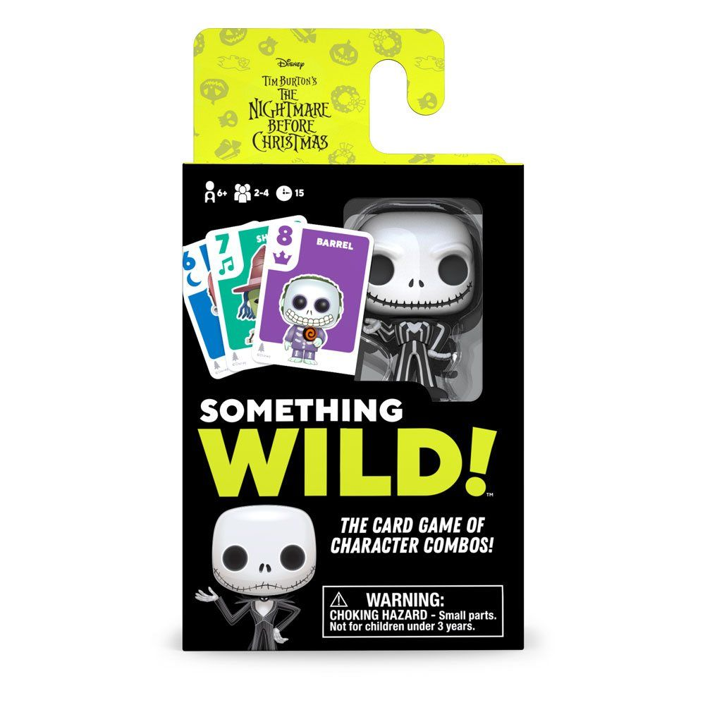 Nightmare before Christmas Card Game Something Wild! Case (4) DE/ES/IT Verze Funko