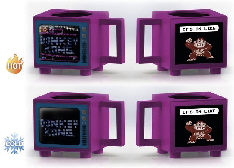 Nintendo Heat Měnící Hrnek Donkey Kong Pyramid International