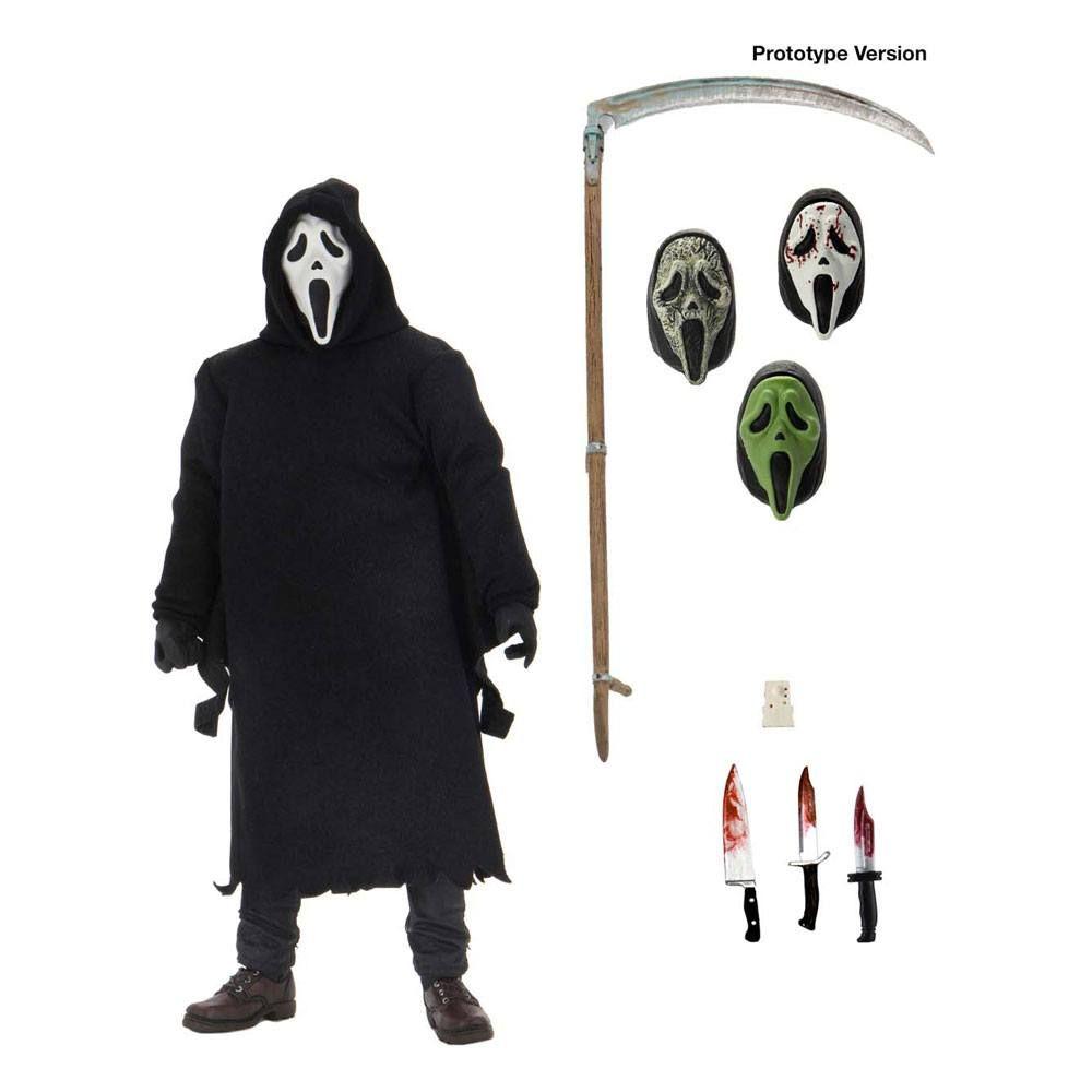 Scream Akční Figure Ultimate Ghostface 18 cm NECA