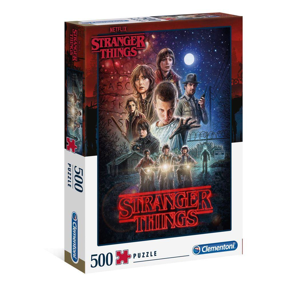Stranger Things Jigsaw Season 1 (500 pieces) Clementoni
