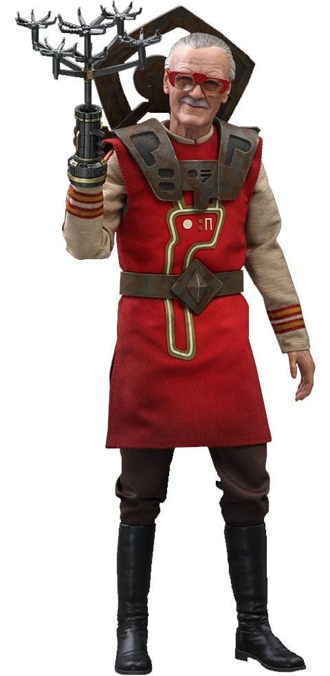 Thor Ragnarok Movie Masterpiece Akční Figure 1/6 Stan Lee Hot Toys Exclusive 30 cm