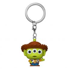 Toy Story Pocket POP! vinylová Keychain Alien as Woody 4 cm
