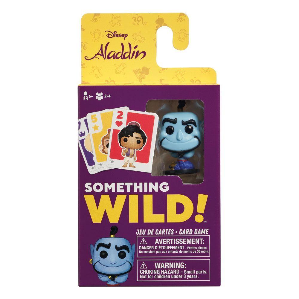 Aladdin Card Game Something Wild! Case (4) FR/EN Verze Funko
