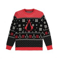 Assassins Creed Knitted Christmas Mikina Logo Velikost M