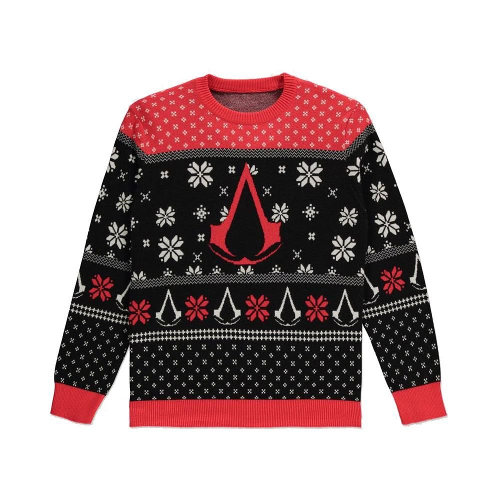 Assassins Creed Knitted Christmas Mikina Logo Velikost XL Difuzed