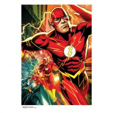 DC Comics Art Print The Flash 46 x 61 cm - unframed