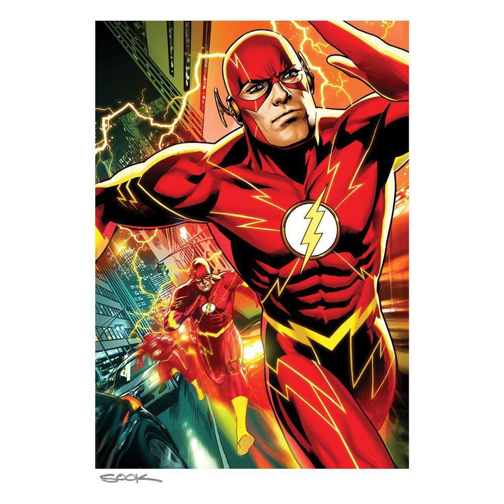 DC Comics Art Print The Flash 46 x 61 cm - unframed Sideshow Collectibles