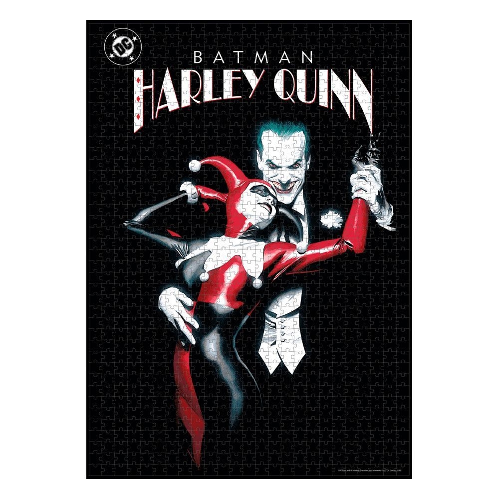 DC Comics Jigsaw Puzzle Joker & Harley Quinn SD Toys