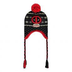Deadpool Ski Čepice Deadpool Odznak Laplander