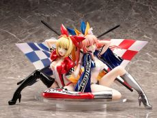 Fate/Extra PVC Soška 1/7 Nero Claudius & Tamamo No Mae Type-Moon Racing Ver. 17 cm