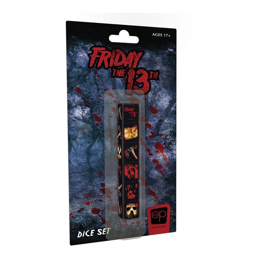 Friday the 13th Dice Set 6D6 (6) USAopoly