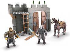 Game of Thrones Mega Construx Black Series Construction Set Winterfell Defense