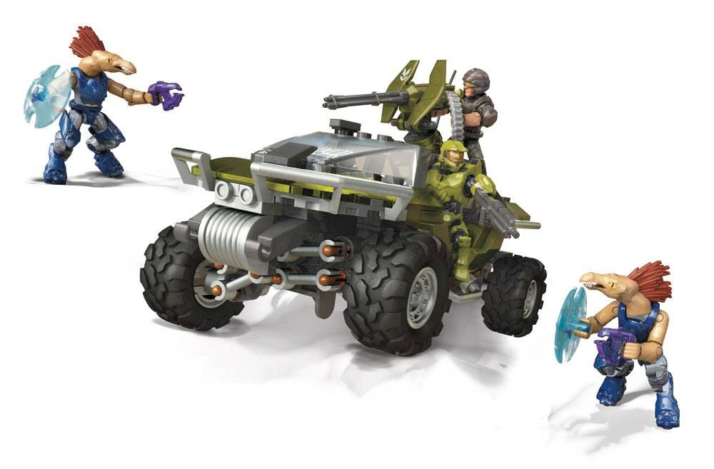 Halo Infinite Mega Construx Pro Builders Construction Set Warthog Rally Mattel