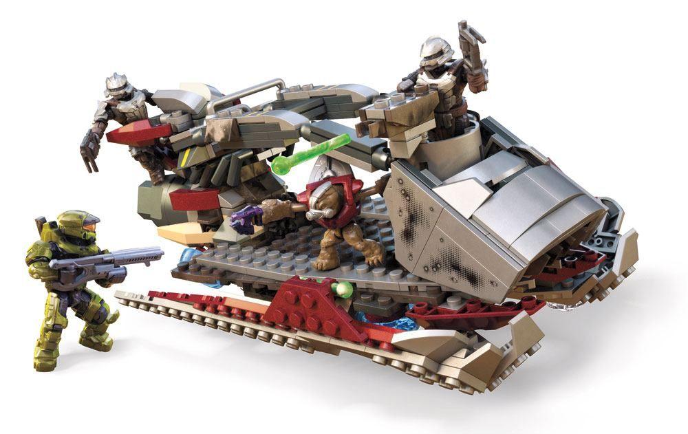 Halo Infinite Mega Construx Pro Builders Construction Set Skiff Intercept Mattel