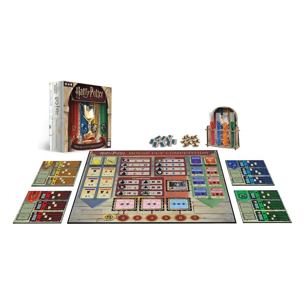 Harry Potter Board Game House Cup Competition Anglická Verze USAopoly